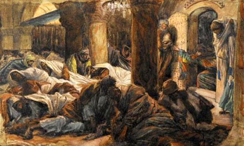 The Cenacle Upper Room At Jerusalem